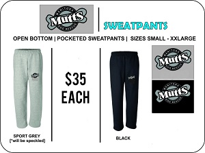 MB MUTTS - STAFF SWEATPANTS